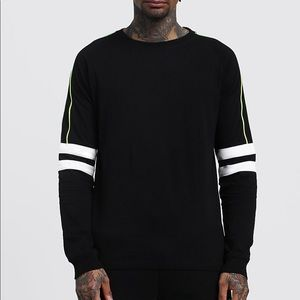 Urban outfitters men's long sleeve tee with panels